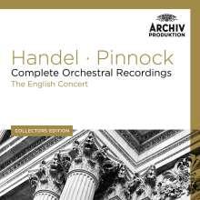 Georg Friedrich Händel (1685-1759): Complete Orchestral Recordings, 11 CDs