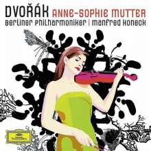 Anne-Sophie Mutter - Dvorak (Deluxe-Edition), 1 CD und 1 DVD