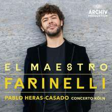 Bejun Mehta - El Maestro Farinelli, CD