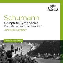 Robert Schumann (1810-1856): Symphonien Nr.1-4, 5 CDs