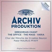 Archiv Produktion - Gregorian Chant (Original Jackets Collection), 4 CDs