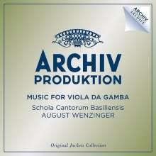 Archiv Produktion - Music for viola da gamba (Original Jackets Collection), 4 CDs