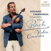 Johann Sebastian Bach (1685-1750): Violinkonzerte BWV 1041-1043, 1052, 1056, CD