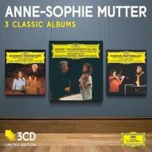 Anne-Sophie Mutter - 3 Album Classics, 3 CDs