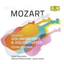 Wolfgang Amadeus Mozart (1756-1791): Violinkonzerte Nr.1-5, 7 CDs