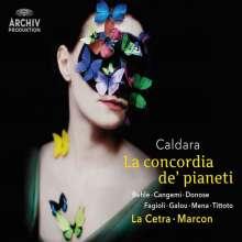 Antonio Caldara (1671-1736): La Concordia de' pianeti, 2 CDs