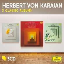 Herbert von Karajan - 3 Classic Albums, 3 CDs