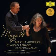 Wolfgang Amadeus Mozart (1756-1791): Klavierkonzerte Nr.20 & 25 (180g), LP