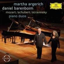 Martha Argerich & Daniel Barenboim - Piano Duos, CD