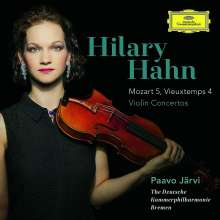 Hilary Hahn - Mozart & Vieuxtemps, CD