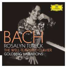 Johann Sebastian Bach (1685-1750): Das Wohltemperierte Klavier 1 & 2, 6 CDs