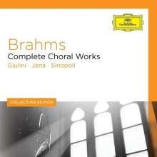 Johannes Brahms (1833-1897): Sämtliche Chorwerke, 7 CDs