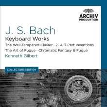 Johann Sebastian Bach (1685-1750): Kenneth Gilbert - Bach, Cembalowerke, 10 CDs