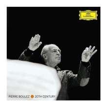 Pierre Boulez - 20th Century Edition, 44 CDs