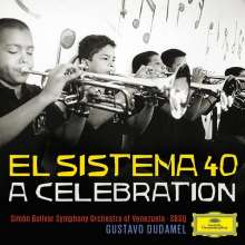 Gustavo Dudamel - El Sistema 40, A Celebration, CD