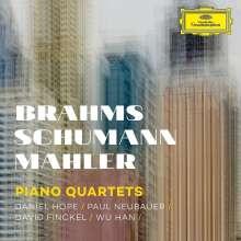 Brahms, Schumann, Mahler - Piano Quartets, CD