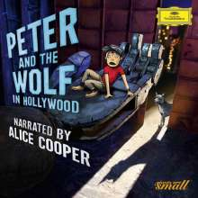 Peter and the Wolf in Hollywood (in der englischen Version mit Alice Cooper), CD