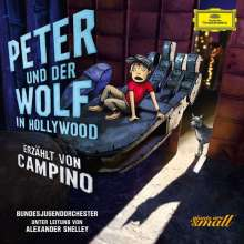 Peter und der Wolf in Hollywood (Deluxe-Ausgabe mit Hardcover-Booklet), CD