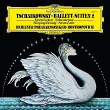 Peter Iljitsch Tschaikowsky (1840-1893): Ballettsuiten 2 (180g), LP