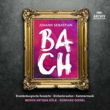 Johann Sebastian Bach (1685-1750): Orchesterwerke & Kammermusik, 13 CDs