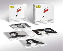 Great Chopin Pianists - The Chopin Competition Winners 1927 – 2010, CD