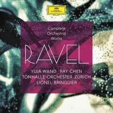 Maurice Ravel (1875-1937): Sämtliche Orchesterwerke, 4 CDs