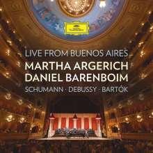 Martha Argerich & Daniel Barenboim - Live from Buenos Aires, CD