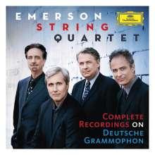 Emerson Quartet - Complete Recordings on Deutsche Grammophon, 52 CDs