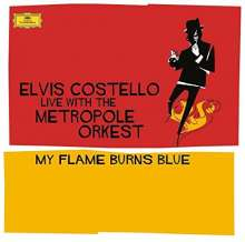 Elvis Costello: My Flame Burns Blue (180g) (Blue Vinyl), 2 LPs