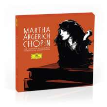 Frederic Chopin (1810-1849): Martha Argerich - The Complete Chopin-Recordings on Deutsche Grammophon, 5 CDs