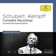 Franz Schubert (1797-1828): Wilhlem Kempff spielt Schubert - The Complete DG Schubert Recordings, 9 CDs