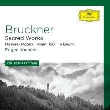 Anton Bruckner (1824-1896): Geistliche Chormusik, 4 CDs