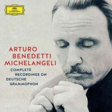 Arturo Benedetti Michelangeli - Complete Recordings on Deutsche Grammophon, 10 CDs