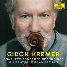 Gidon Kremer - Complete Deutsche Grammophon & Philips Recordings, 22 CDs