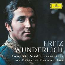 Fritz Wunderlich - Complete Studio Recordings on Deutsche Grammophon, 32 CDs