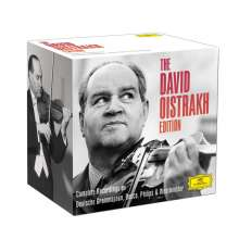 David Oistrach - Complete Recordings on Deutsche Grammophon, Decca, Philips, Westminster, 22 CDs