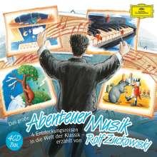 Rolf Zuckowski präsentiert - Abenteuer Musik, 4 CDs