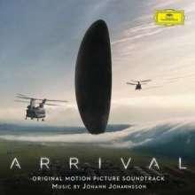Johann Johannsson (1969-2018): Filmmusik: Arrival, CD