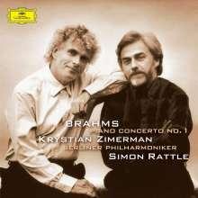 Johannes Brahms (1833-1897): Klavierkonzert Nr.1 (180g), LP