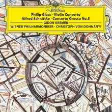 Philip Glass (geb. 1937): Violinkonzert (180g), LP