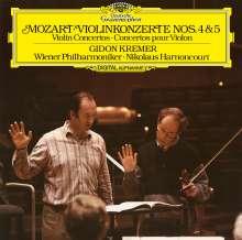 Wolfgang Amadeus Mozart (1756-1791): Violinkonzerte Nr.4 & 5 (180g), LP
