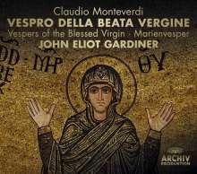 Claudio Monteverdi (1567-1643): Vespro della beata vergine (Deluxe-Edition mit DVD), 3 CDs