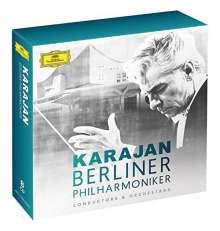 Herbert von Karajan und die Berliner Philharmoniker, 8 CDs