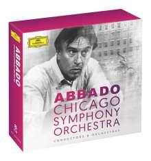 Claudio Abbado und das Chicago Symphony Orchestra, 8 CDs