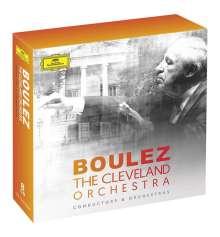 Pierre Boulez und das Cleveland Orchestra, 8 CDs