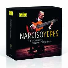 Narciso Yepes  - The Complete Solo Recordings, 20 CDs