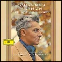 Johannes Brahms (1833-1897): Symphonien Nr.1-4 (180g), 4 LPs