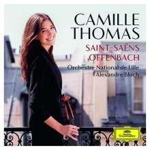 Camille Thomas - Saint-Saens & Offenbach, CD