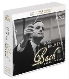 Karl Richter Edition - Bach Sacred Works, 11 CDs