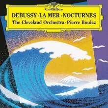 Claude Debussy (1862-1918): Nocturnes Nr.1-3 (180g), LP